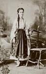 Carol Papp de Szathmary - Port femeiesc din Bucuresti - 1870