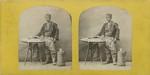 Carol Papp de Szathmary - Vanzator ambulant roman de dulciuri, stereo - 1866